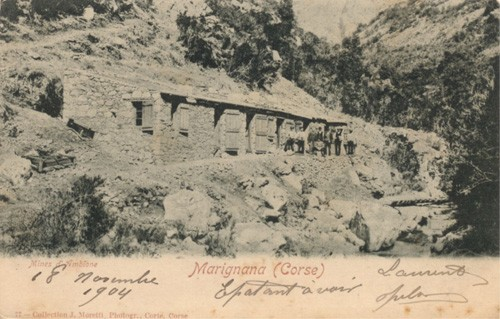Carte Corse Marignana.Attivita Di Scavamentu Minirale In Lu Pumonte